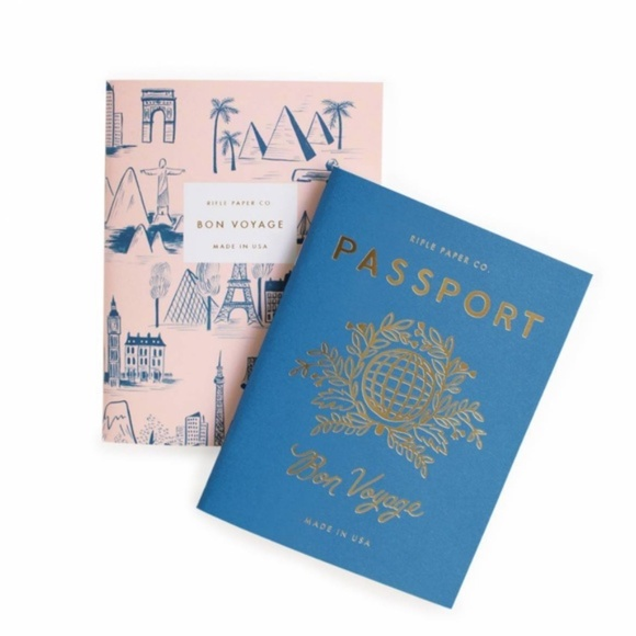 New Rifle Paper Co. Pocket Notebooks | Set of 2